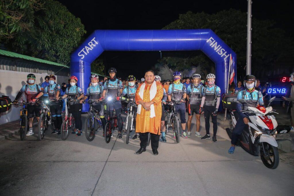 Guruji Shrii Arnav with Officers of the Navy and the Bike Nurse Team